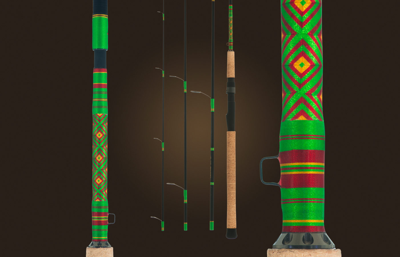 Custom Highliner Travel Rods